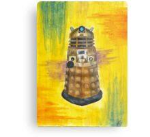 Rainbow Dalek  Metal Print