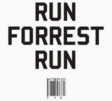Run Forrest Run by upsidedownRETRO