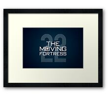The Moving Fortress Framed Print