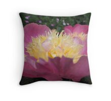 Perfect Peony side  Throw Pillow