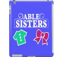 Able Sisters Logo iPad Case/Skin