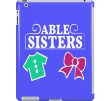 Able Sisters Logo iPad Case/Skin