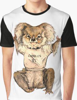 Cuddle Koala Graphic T-Shirt