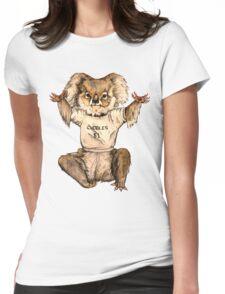 Cuddle Koala Womens Fitted T-Shirt
