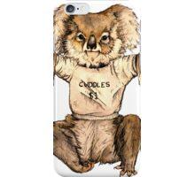 Cuddle Koala iPhone Case/Skin