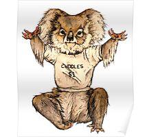 Cuddle Koala Poster