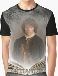 Outlander/Book with Jamie Graphic T-Shirt