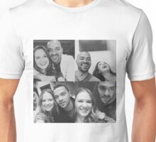 Jesse Williams & Sarah Drew (Sasse)  Unisex T-Shirt