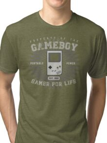 Property of the Gameboy Tri-blend T-Shirt