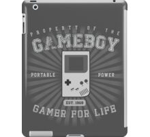 Property of the Gameboy iPad Case/Skin