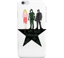 Team Arrow Is Not Throwing Away Their Shot iPhone Case/Skin