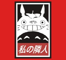 My Neighbor, Totoro! (Obey Parody) Kids Tee