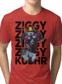 Kushr King Ziggy (Black) Tri-blend T-Shirt