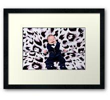 really,really sad Baby Framed Print