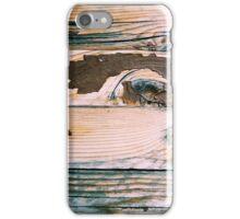 Wooden bench iPhone Case/Skin