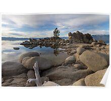 East Shore of Lake Tahoe Poster