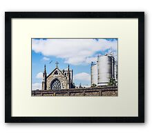 Church & State Framed Print