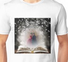 Outlander Book with Jamie & Claire Unisex T-Shirt