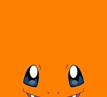 Charmander Face (Orange) Phone Case - Pokemon by Thomas Marsden