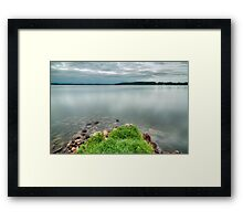 Green Island. Framed Print