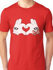 Minnie and Mickey Love Unisex T-Shirt