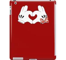 Minnie and Mickey Love iPad Case/Skin