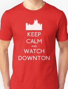 Keep Calm and Watch Downton T-Shirt