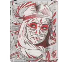 Day of the Dead in Red iPad Case/Skin