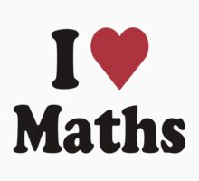 I Heart Love Maths by HeartsLove