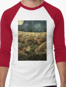 Beautiful Night in the Badlands Men's Baseball ¾ T-Shirt