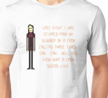 The IT Crowd – A Crow Calls Three Times Unisex T-Shirt