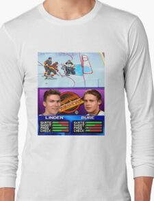 Vancouver Canucks Arcade Shirt  Long Sleeve T-Shirt