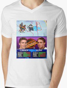 Vancouver Canucks Arcade Shirt  Mens V-Neck T-Shirt
