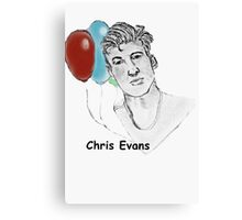 Chris Evans Canvas Print