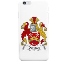 Duncan Coat of Arms / Duncan Family Crest iPhone Case/Skin