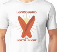 Longboard The North Shore Unisex T-Shirt