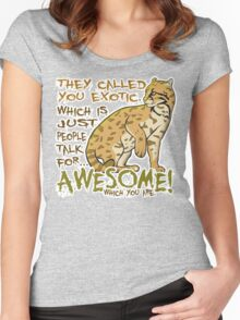 Babou is Awesome Women's Fitted Scoop T-Shirt