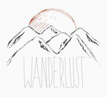 Wanderlust. One Piece - Short Sleeve