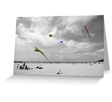 Spring Winds Greeting Card