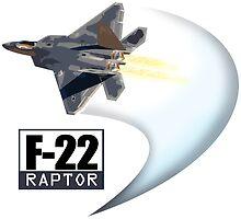 F22 Raptor by EJTees