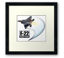 F22 Raptor Framed Print