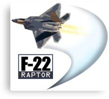 F22 Raptor Canvas Print