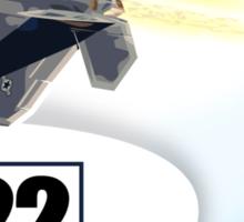 F22 Raptor Sticker