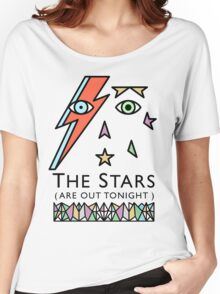 BOWIE-STARMAN Women's Relaxed Fit T-Shirt