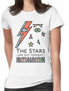 BOWIE-STARMAN Womens Fitted T-Shirt