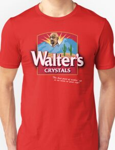 Walter's Crystals | Breaking Bad | Walter White | Folgers Coffee T-Shirt