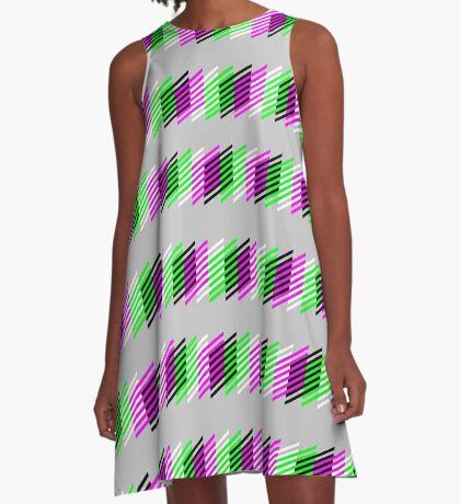 Mind Dissolution A-Line Dress
