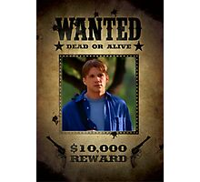 Buffy Riley Wanted 3 Photographic Print