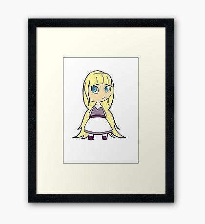 Chibi Gabby Framed Print
