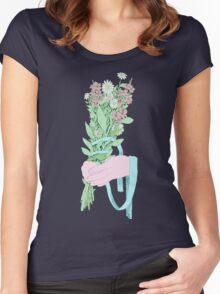 Bouquet (notext) Women's Fitted Scoop T-Shirt
